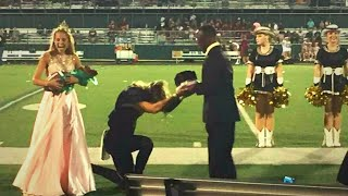 After This Jock Was Crowned Homecoming King, What He Did To His Classmate Left The Crowd Speechless