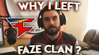 Why I left FaZe Clan, Fortnite, Life  | Q&A