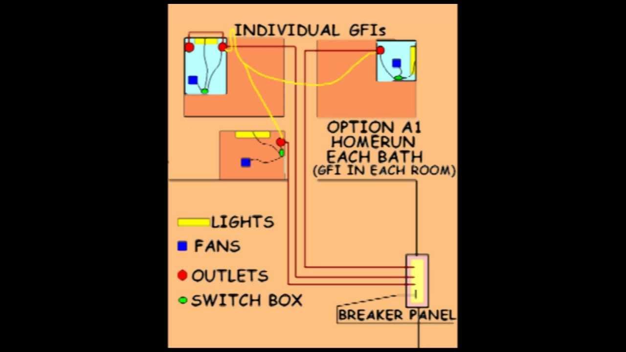 bathroom exhaust fan wiring diagrams nec code on bathroom wiring #69 - youtube #3