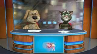 Tom & Ben News  Je  m'applle funny Bear Version - Gummy Bear song