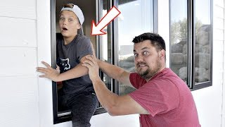 We SNUCK into our NEW HOUSE!
