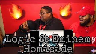Logic - Homicide (feat. Eminem) (Official Audio) REACTION 🔥