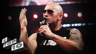 The Rock's Best Verbal Smackdowns: WWE Top 10