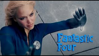 Invisible Woman using her powers - Fantastic Four 1&2