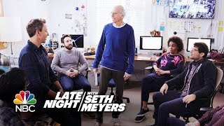 Larry David Joins the Late Night Writing Staff