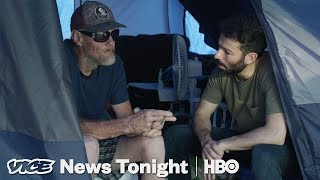 The People Living In Tent Cities After Hurricane Michael Feel Abandoned By Trump (HBO)
