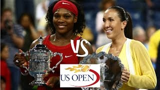 Williams vs Jankovic | 2008 US Open Highlights
