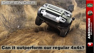Offroading with Land Rover Defender 2020 | India | Also feat. b2b Endeavour, Fortuner, Thar, V-Cross