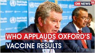 World Health Organisation applauds Oxford's Coronavirus va..