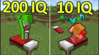 200IQ vs 10IQ Minecraft Plays #10