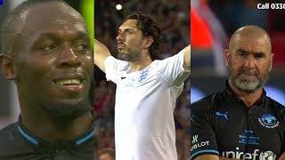 England XI vs World XI - Soccer Aid 2018 Highlights - Charity Match - YouTube