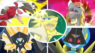 All Exclusive Z-Moves in Pokémon Ultra Sun and Ultra Moon HD