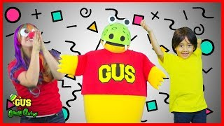 Body Parts Dance Songs for Children with Ryan and Gus