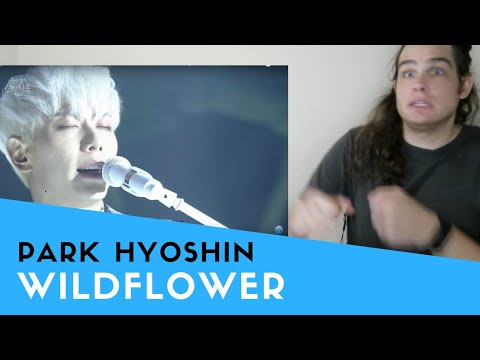 Voice Teacher Reacts to Park Hyoshin - Wildflower | 박효신 - 야생화