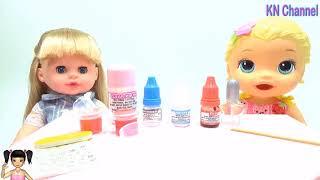 ChiChi ToysReview TV - Trò Chơi làm nước sơn móng tay thật tuyệt đẹp