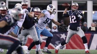 Titans vs. Patriots 2018 AFC Divisional Game Highlights | NFL