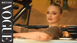 How To Change A Tyre With Sophie Turner | British Vogue