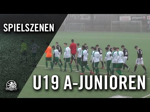 BFC Preussen - BSV GW Neukölln (U19 A-Junioren, Landesliga, Staffel 1) - Spielszenen | SPREEKICK.TV