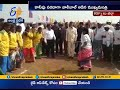 CM Chandrababu Recalls Childhood & Plays Volleyball at Siddapuram