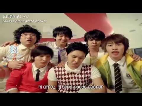 Cooking? Cooking! - Super Junior H SUB ESPAÑOL+HAN+ROM