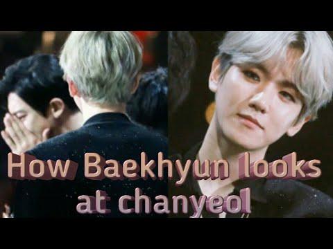 [Chanbaek- 찬백] What Baekhyun's eyes say (How baekhyun looks at Chanyeol- New moments)