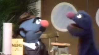 Classic Sesame Street - Fat Blue (a.k.a.) Simon Soundman orders a chicken sandwich