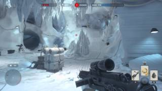 Star Wars Battlefront Singleplayer Survival on Hoth (First game)