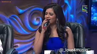 Shreya ghosal nice moment