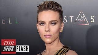 Scarlett Johansson Exits 'Rub & Tug' Following Backlash | THR News Flash
