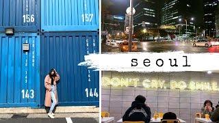 SEOUL, SOUTH KOREA TRAVEL VLOG | AIRBNB, SHOPPING, KOREAN FOOD & HAIR SALON