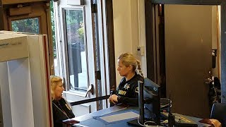 Washington County Court Security put in her place by Copwatcher's