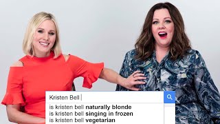 Melissa McCarthy & Kristen Bell Answer The Web's Most Searched Questions   WIRED