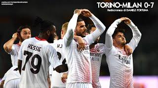 TORINO-MILAN 0-7 - Radiocronaca di Daniele Fortuna (12/5/2021) da Rai Radio 1