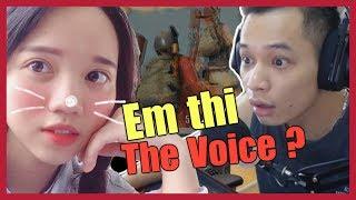 Độ Tày, Ốc vô địch cùng Snake Thuê gái về gánh PUBG, thuê trúng Girl Xinh thi The Voice - PUBG #23