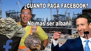 Dejo la construcción porque facebook ya paga. MUESTRO CHEQUE.
