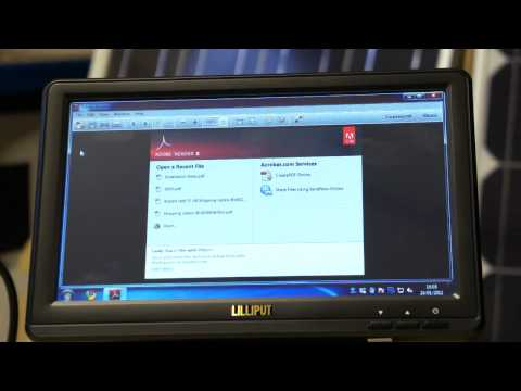 Lilliput Touchscreen USB Monitor on Windows 7 Review