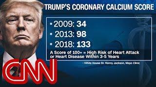 Dr. Gupta: Trump a heart disease risk