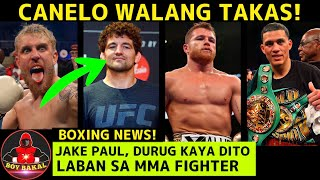 Canelo Alvarez Walang takas Kay David Benavidez   Jake Paul Kasado Na Laban SA MMA Fighter