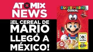 ¡El cereal de Mario llegó a México! – #AtomixNews [10/10/18]