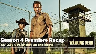 The Walking Dead Season 4 Premiere Recap: 30 Days Without an Accident | October 13 Review