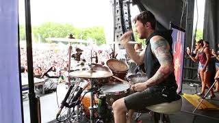 Blessthefall - What's Left Of Me [Matt Traynor] Drum Cam Live [HD]