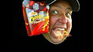 BURGER KING® Flamin' Hot Mac n' Cheetos REVIEW!