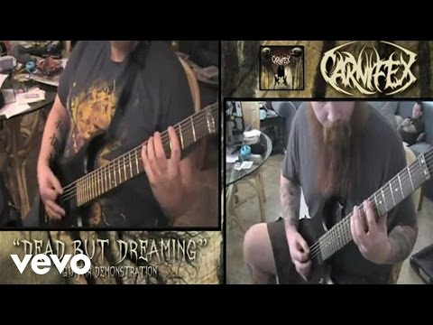 """Dead But Dreaming"" Guitar Demonstration by Carnifex"