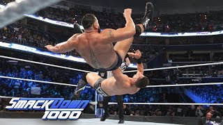 Rusev vs. The Miz - WWE World Cup Qualifying Match: SmackDown 1000, Oct. 16, 2018