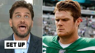 'Take me instead!' – Mike Greenberg reacts to Sam Darnold out indefinitely with mono | Get Up