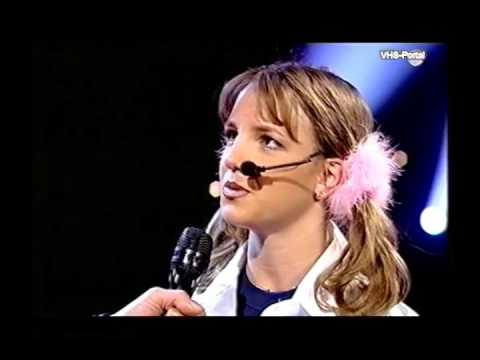 Britney Spears - National Lottery 1999