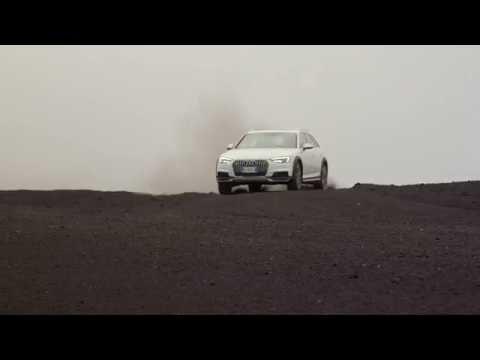 Nuova Audi A4 allroad quattro sull'Etna