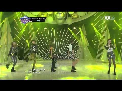 【1080P】121220  f(x) - Electric Shock  @ Special Stage
