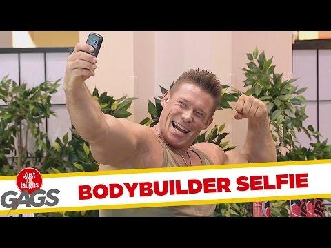 Bodybuilder Wannabe Prank