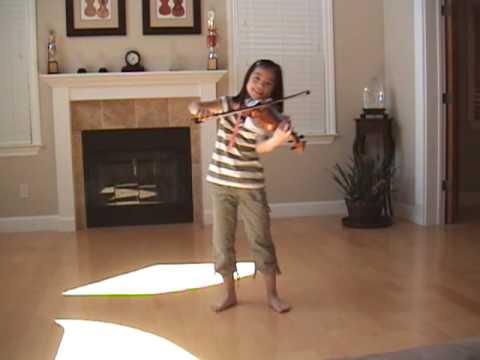 張韶涵-隱形的翅膀 Invisible Wings - Jocelyn violin 8 years old